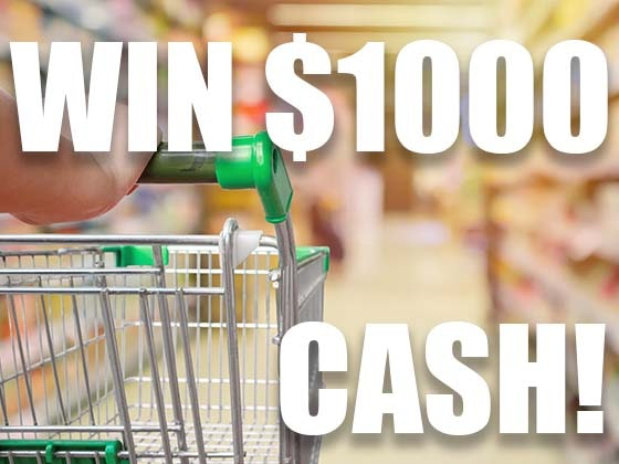 $1000 Cash December 2019 sweepstakes