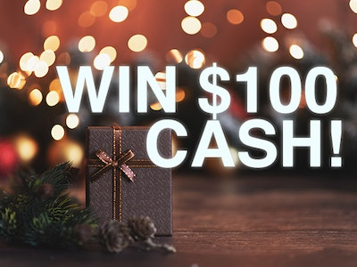 $100 Cash  sweepstakes