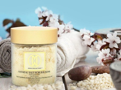 Oatmeal Salt Scrub & Soak From OMM Collection sweepstakes