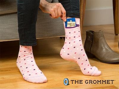 Women's Crew Pocket Socks sweepstakes