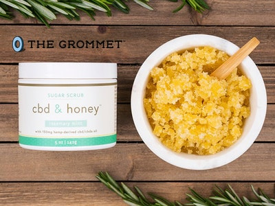 CBD Sugar Scrub From The Grommet sweepstakes