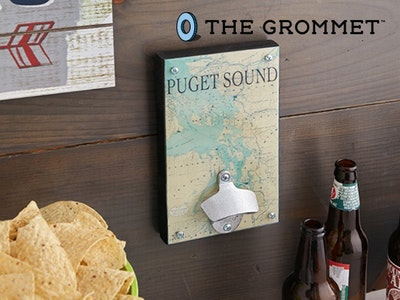 Wall Mount Bottle Opener From The Grommet sweepstakes