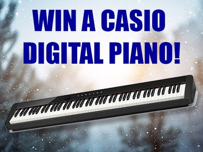 Casio Digital Piano sweepstakes