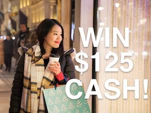 125 cash prize