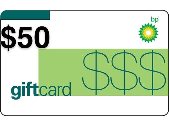 $50 BP Gas Card! sweepstakes