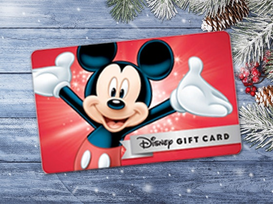 Disney Gift Card sweepstakes