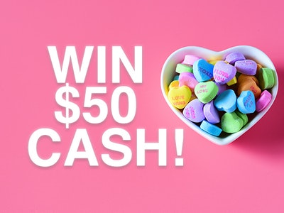 $50 Cash Prize sweepstakes
