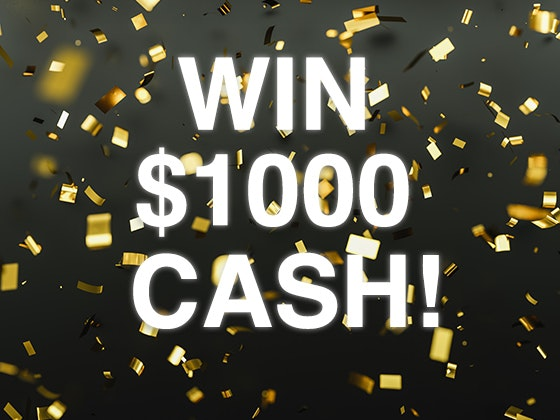 $1000 Cash Prize! sweepstakes