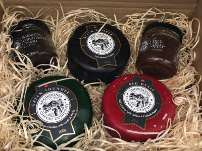 Win a Snowdonia Cheese Company Gift Hamper sweepstakes
