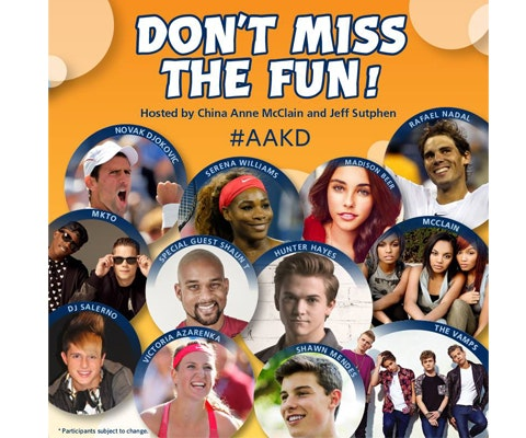 Aakd giveaway