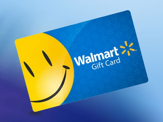 $100 Walmart Gift Card sweepstakes