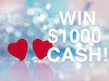 1000 Cash sweepstakes