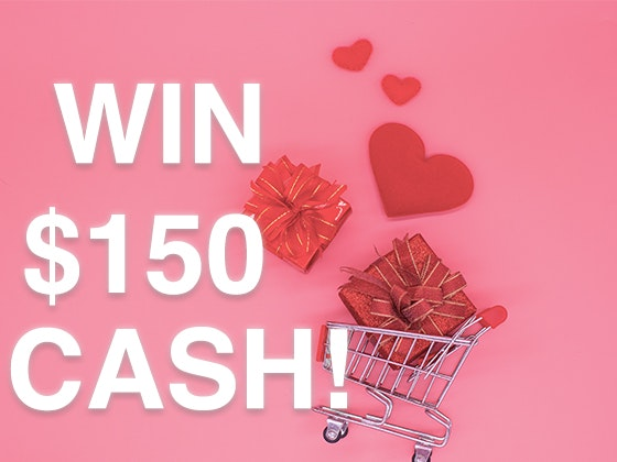 $150 Cash Prize! sweepstakes