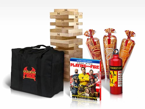 Playing with Fire sweepstakes