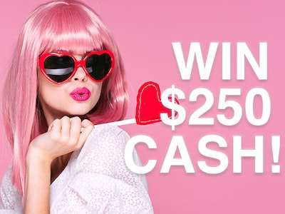 $250 Cash Prize!  sweepstakes
