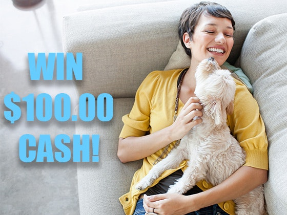 $100 Cash Prize March 2020 sweepstakes