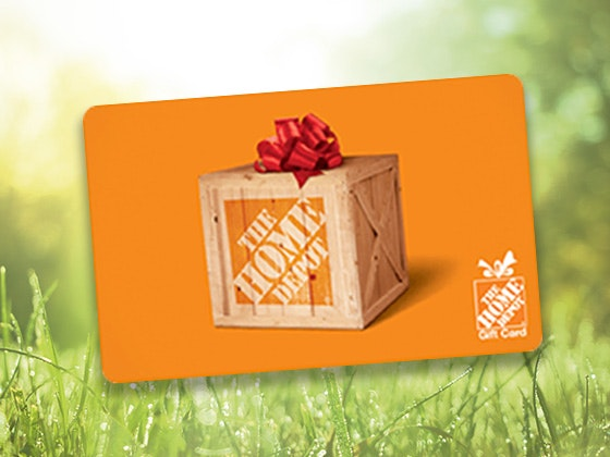 $350 Home Depot Gift Card - November/December sweepstakes