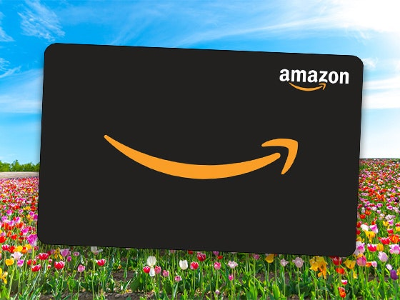 Amazon $50 - 30 Days of Joy sweepstakes