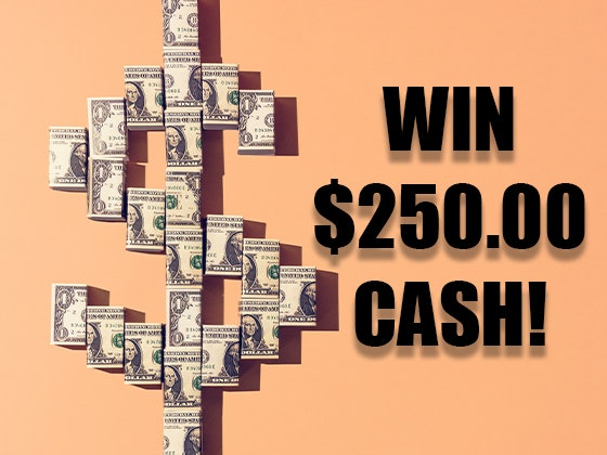 $250 Cash Prize March 2020 sweepstakes