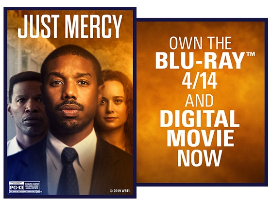 Just Mercy on Digital!  sweepstakes