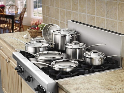 CUISINART 12-Piece Cookware Set! sweepstakes