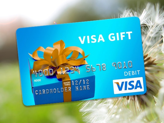Visa Gift Card - April 2020 Week #1 sweepstakes