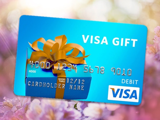 Visa Gift Card - April 2020 Week #2 sweepstakes