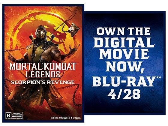 Mortal Kombat Legends: Scorpions Revenge sweepstakes