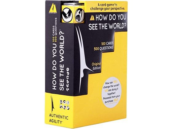 Win Authentic Agility How Do You See The World! sweepstakes