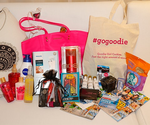 Gift Bag from Life & Style 10 Year Anniversary Party sweepstakes