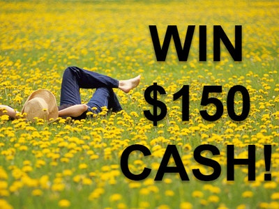 $150 Cash Prize May 2020 sweepstakes