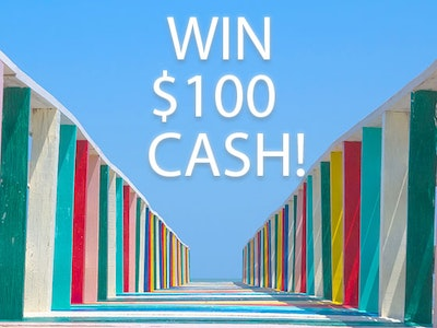 $100 Cash Prize!  sweepstakes