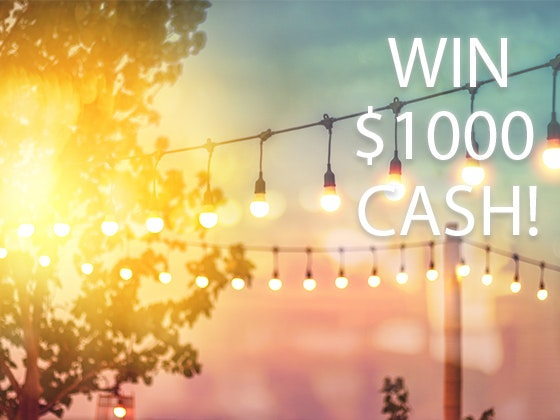 $1000 Cash sweepstakes