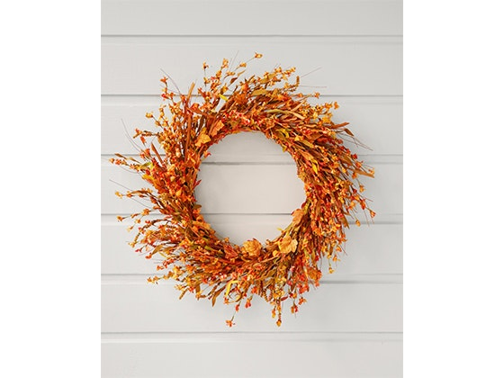 Balsam Hill Fall Wreath! sweepstakes