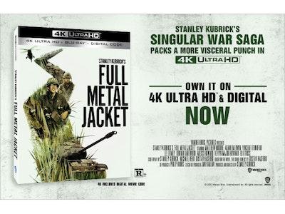 Full Metal Jacket 4K Digital Movie! sweepstakes