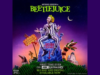 Beetlejuice 4K Ultra HD™ Digital Movie sweepstakes