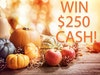 $250 Cash sweepstakes