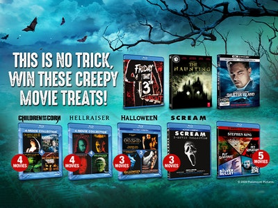 Paramount - Halloween Movie sweepstakes