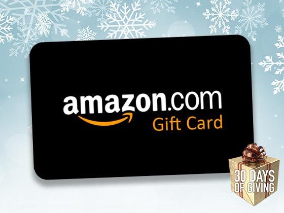 $50 Amazon Gift Card! sweepstakes