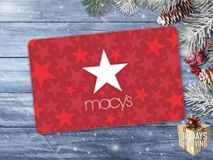 Macys 30 days of giving