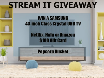 Samsung TV sweepstakes