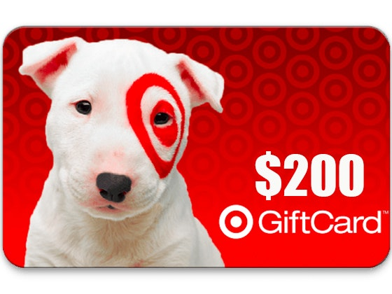 $200 Target Gift Card!  sweepstakes