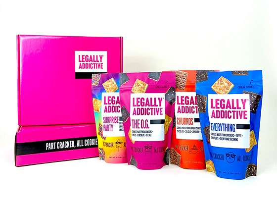 Legally Addictive Foods sweepstakes