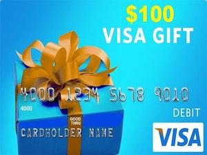 100 visa gift card