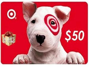Target gift card  50
