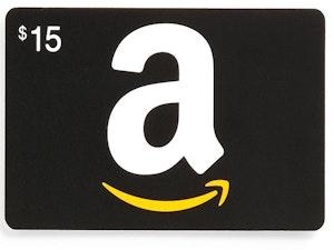 15 amazon gift card