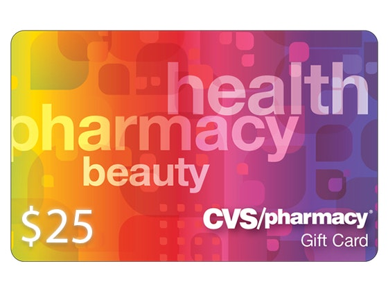 $25 CVS Card sweepstakes