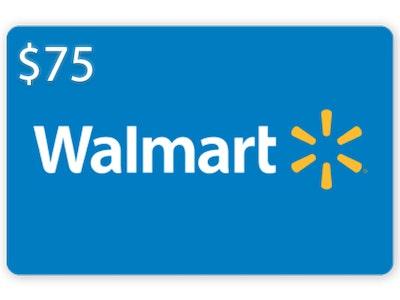 $75 Walmart Gift Card! sweepstakes