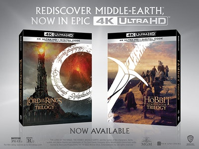 MIDDLE-EARTH TRILOGIES! sweepstakes