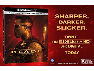 Blade in 4K Ultra HD!   sweepstakes